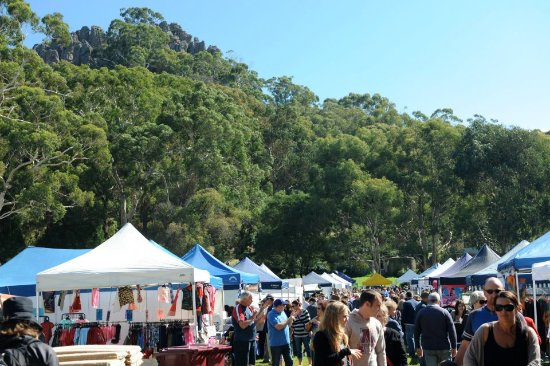 A Market at Hanging Rock