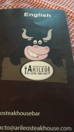 San Juan Cosala, Mexico: menu