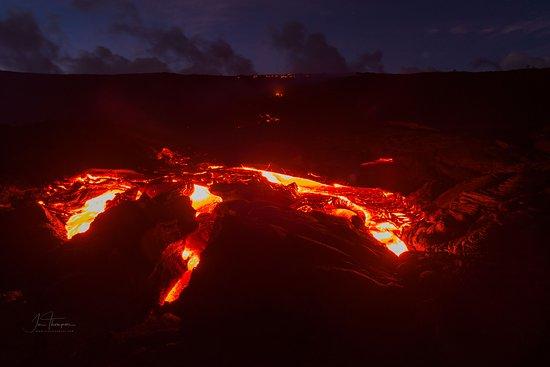 Pahoa, Гавайи: Lava Breaking Out