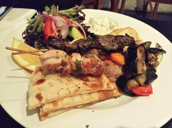 Kyma : dry meat