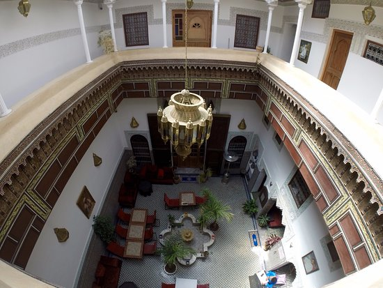 Riad Naila : View of the inside of the Riad
