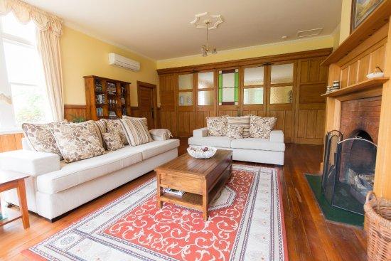 Rakaia, นิวซีแลนด์: Guest lounge