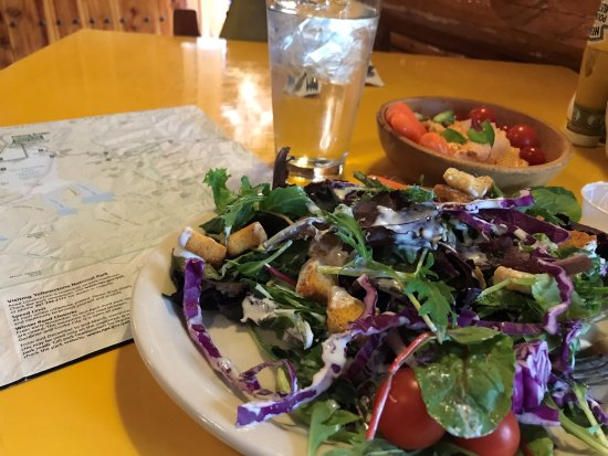 Silver Gate, MT: Excellent Salads - Definitely Beyond the Norm