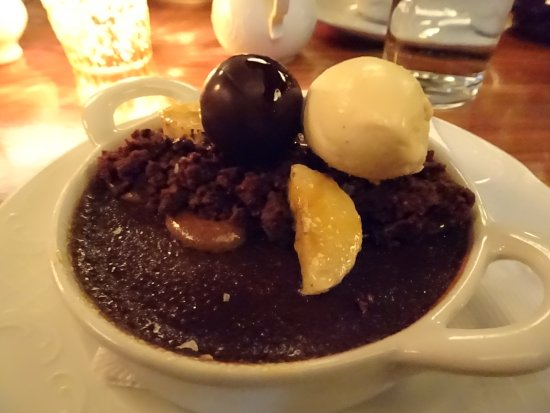 "creme brûlée"" (we think!) - Picture of Cherry Circle, Chicago ..."