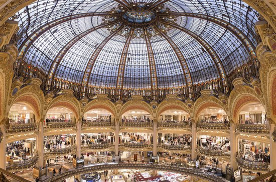 Paris Galeries Lafayette Shopping...