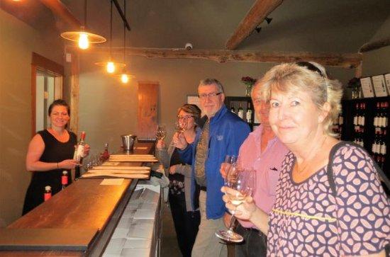 O passeio pela vinícola Fraser Valley