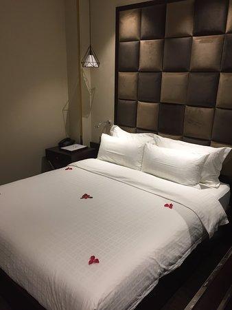 Hanoi La Storia Hotel: 2樓房型較小