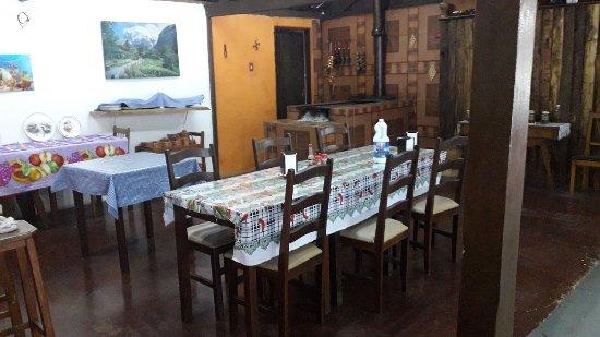 A Casa Da Tapioca de Tapirai: limpa e organizada