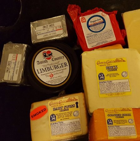 Monroe, WI: These cheeses are amazing, and the prices are good, too