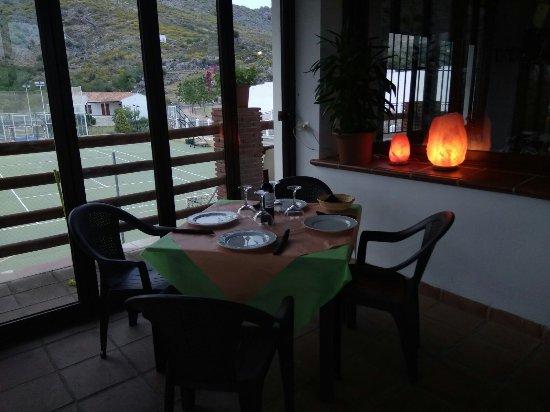 Cartajima, Spanien: Restaurante El Mirador del Genal