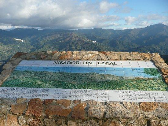 Cartajima, Espagne : Restaurante El Mirador del Genal