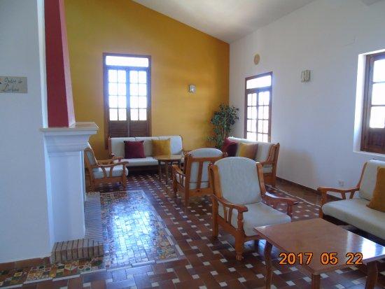 Hotel Villa de Priego de Córdoba: Salón, planta alta