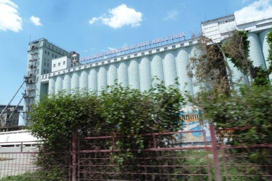 Marines Monument, Volgograd Grain Elevator
