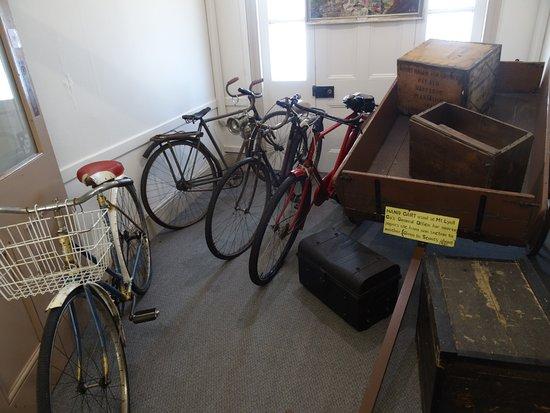 Queenstown, Australien: old bikes