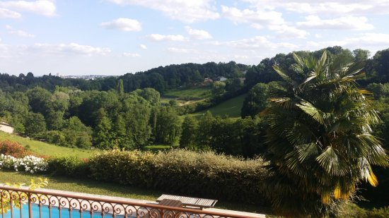 Limonest, France: Depuis la terrasse de la maison d'hôtes