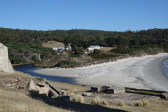 Triabunna, Australia: Looking back towards the main area of Darlington