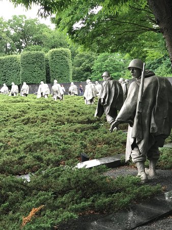 Private Tours of Washington : Korean War Veterans Memorial