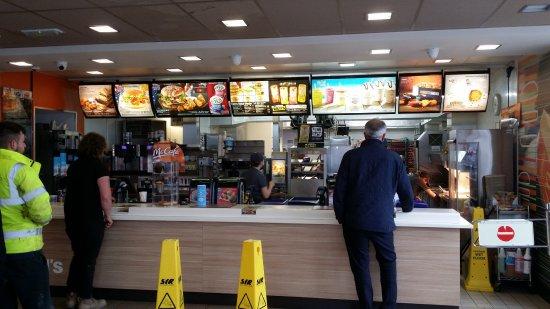 M1 Motorway Junction: McDonald's