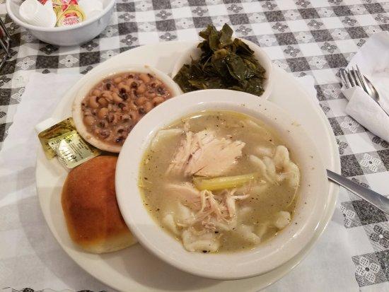 Petersburg, VA: chicken and dumplins