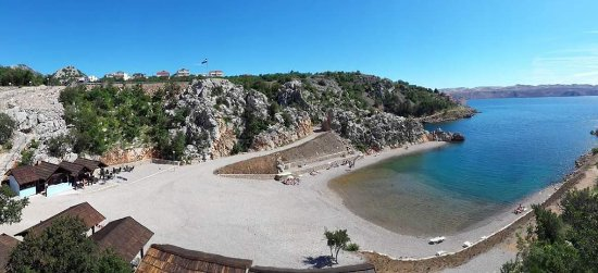 Karlobag, Croacia: Beach Bar Tatinja