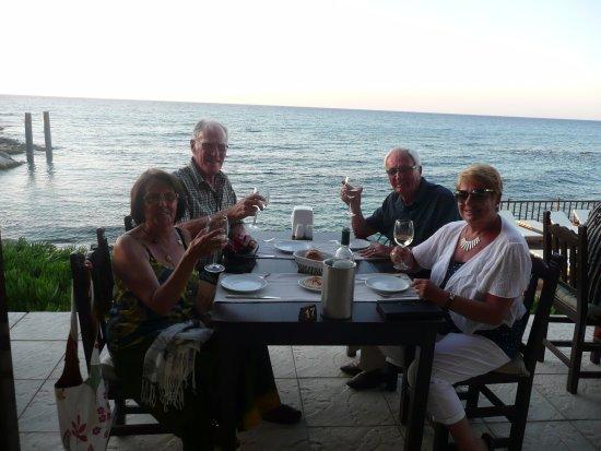 DINING AT SILVER ROCKS, LAPTA