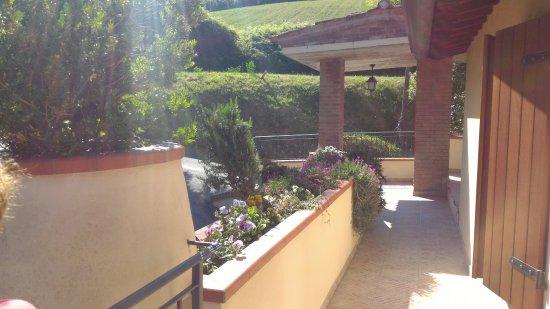 Mondaino, Italien: Accesso alle stanze