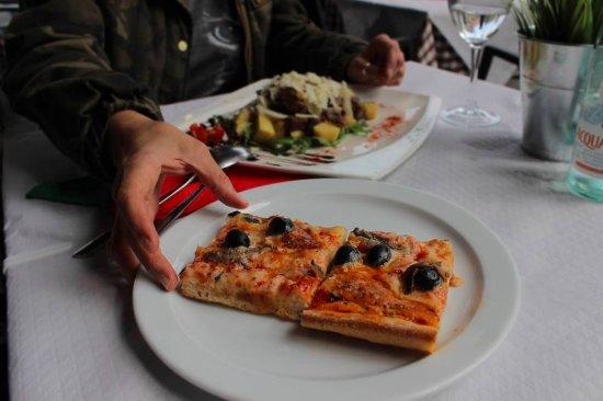 tarta de queso o sole mio mesa y l pez foto di pizzer a