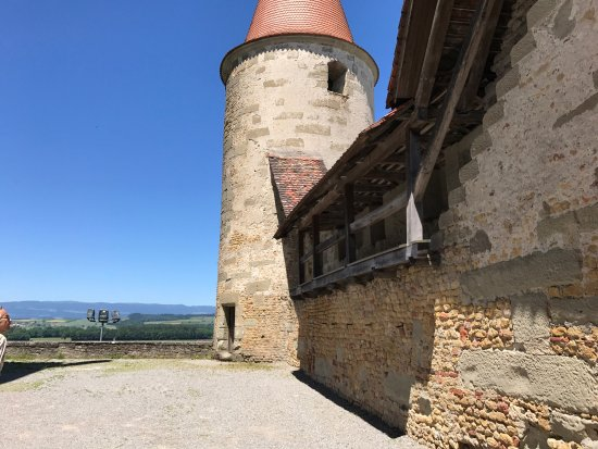 Avenches, Switzerland: Roman wall Avanches