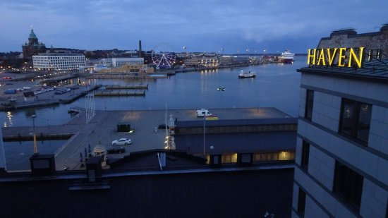 Evening View From Grand Deluxe Harbour View 803 Picture