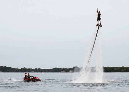 ‪Just Add Water Flyboard‬