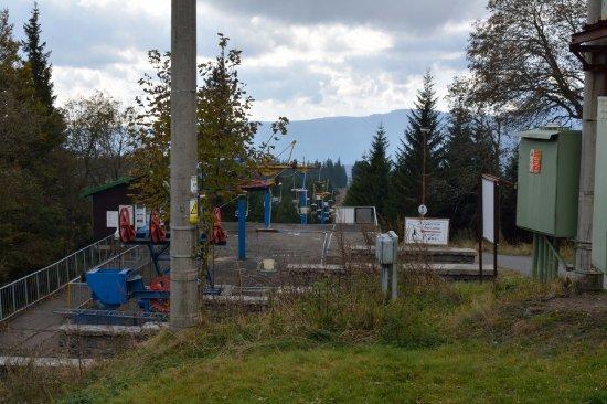 Zelezna Ruda, Czech Republic: Cable Car (Lanovka)