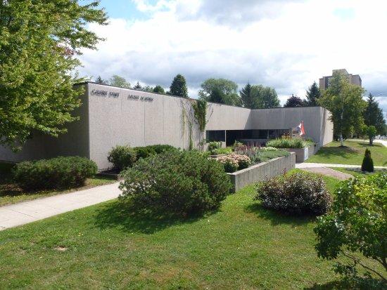 Moncton, Canada: Galerie d'art et Musée acadien