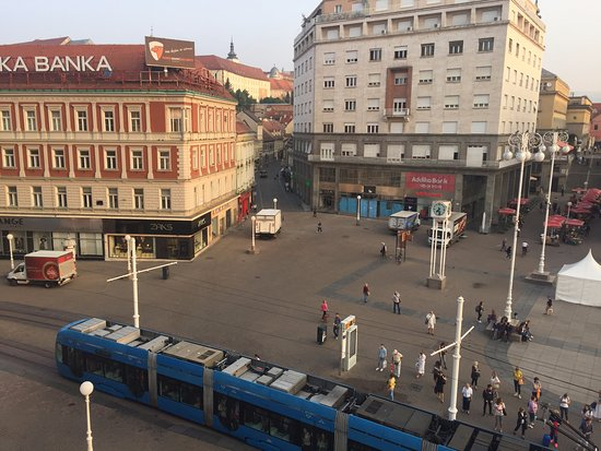 Hotel dubrovnik zagreb view from our room picture of for Hotels zagreb