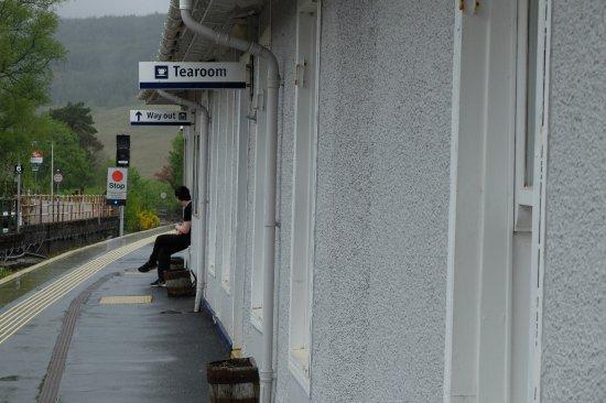Crianlarich Station Tearoom: Platform