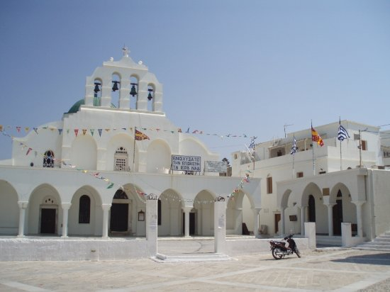 Greek Orthodox Cathedral Foto