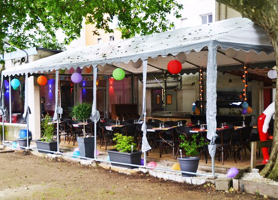 Jardin du pr fleuri villeurbanne restaurant avis for Jardin fleuri lyon 9