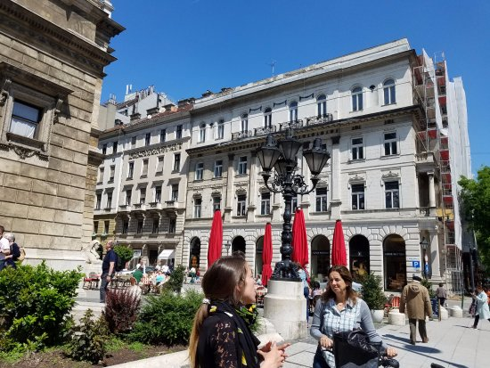 IBEROSTAR Grand Hotel Budapest: In front of hotel.