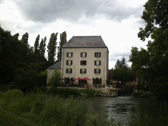Le Moulin Fleuri : Achterzijde.