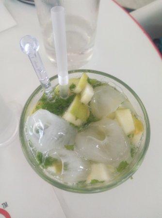 Rendezvous: Green Apple Mocktail