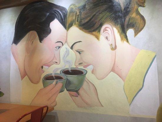 Interior of Mokka Coffee