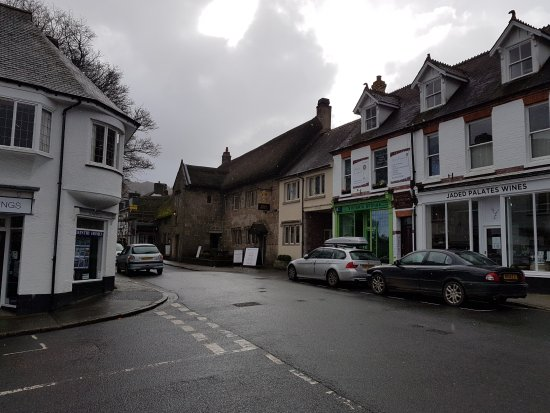 Chagford, UK: Street view