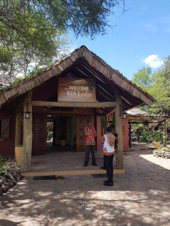 Kia Lodge – Kilimanjaro Airport: View of hotel entrance.
