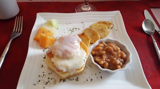 Grand-Mère, Canada: Petit déjeuner copieux