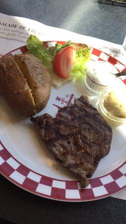 La Courneuve, France: Pièce de bœuf marinée 140g