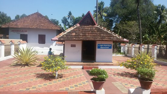 Thiruvalla, Indien: Azhipura , Residence and administrative office of St Gregorios near Parumala Church