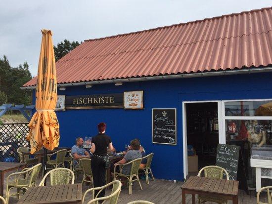 Ostseebad Prerow, เยอรมนี: Blick von der Terrasse