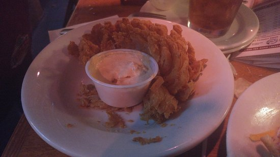 Tonawanda, NY: blooming onion, a must have