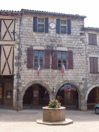 Castelnau-de-Montmiral, Франция: Mairie Office de Tourisme