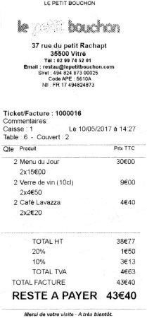 Vitre, ฝรั่งเศส: уровень цен
