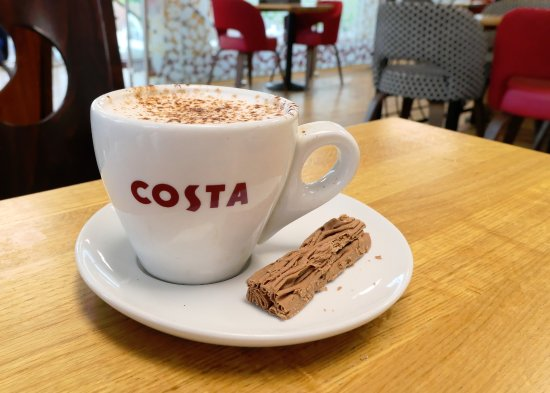 Royston, UK: Costa Coffee - Babyccino